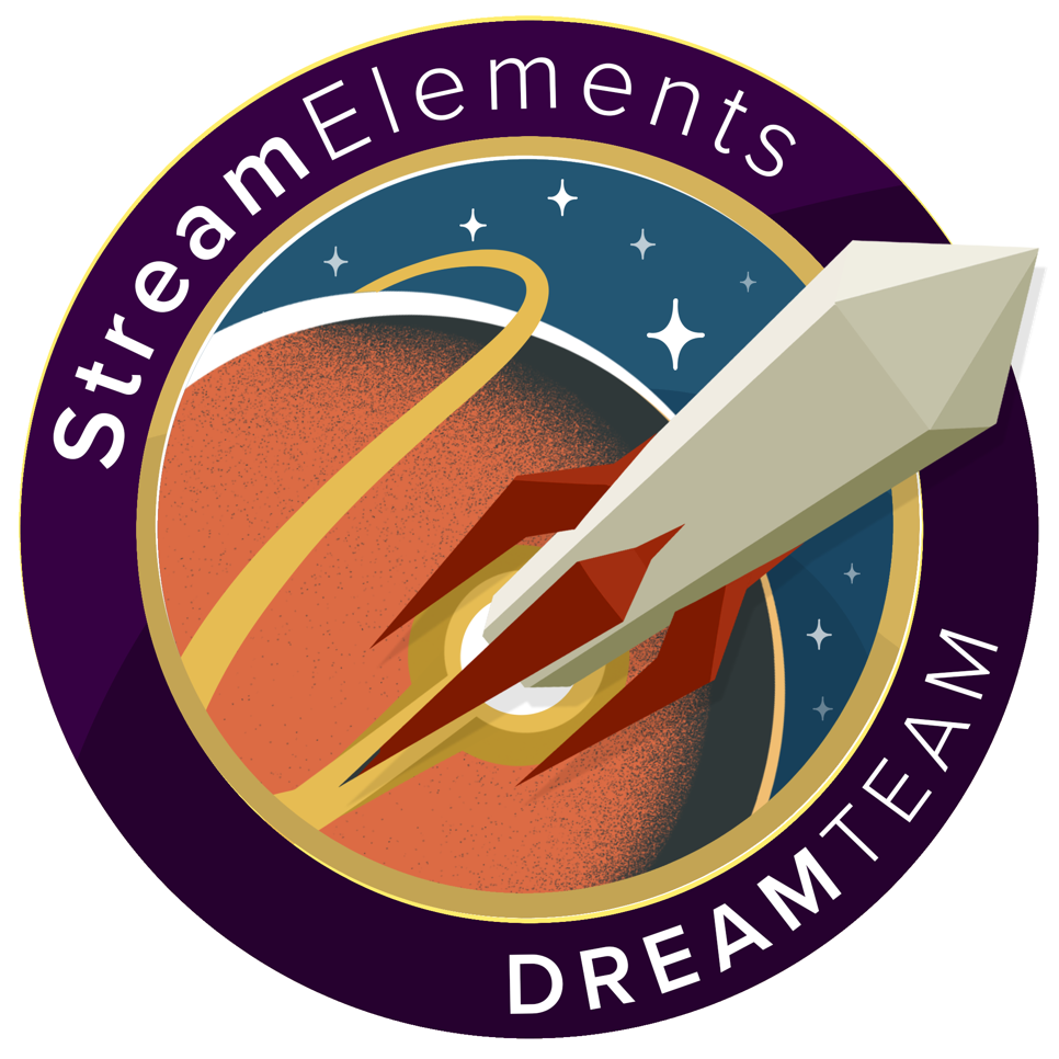 StreamElements Team of Top Streamers - The DreamTeam