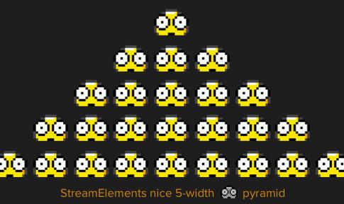 Emote pyramid